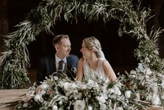 Shustoke Barn Wedding with Bride in Charlie Brear Carenne Dress with Corette Lace Overdress And Emmy London Belt by Grace & Mitch Photography Barn Wedding Venue, Wedding Bells, Moon Gate, Simple Wedding Decorations, Sunset Wedding, Amazing Weddings, Bridal Looks, Wedding Trends, Greenery