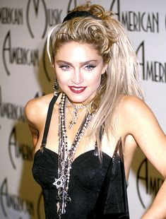 Madonna's 80s downtown, dirty-cool hair