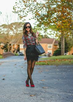 Sequins and Things | fancy in feathers