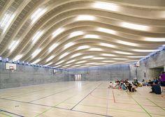 Gammel Hellerup Sports Hall by Danish Architectural firm BIG