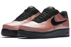 online store 794c1 93a61 Metallic Pink Lands On The Nike Air Force 1 Foamposite Pro Low