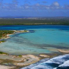 Lac Bay, Bonaire. The most spectacular windsurfing area in the world.