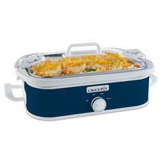 Crock-Pot® Casserole Crock™ Quiet Cooker, Midnight Blue