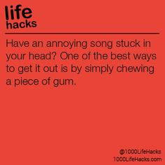 Song stuck in your head?