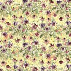 SALE Susan Winget Natures Grace Floral Impressions, Cotton Sewing Fabric, Quilting Material, F2006 #FabricMuse #quilts