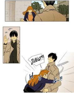 Cheese In The Trap Webtoon, Im Bored, Storyboard, Manga Anime, Male Outfits, Cartoon, Comics, Memes, Couple Goals