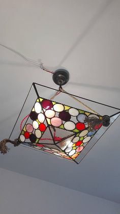 hanging lampmodern style tiffany stained glass