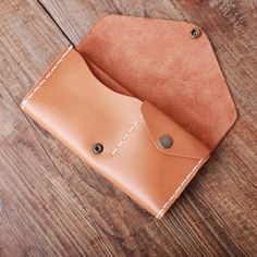 Handmade leather vintage envelop women long wallet clutch phone purse wallet - Handmade leather vintage envelop women long wallet clutch phone purse wallet Source by nosmacarons