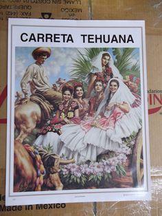 Jesus Helguera art mexican poster calendar art unique by ZAPICHE, $9.99