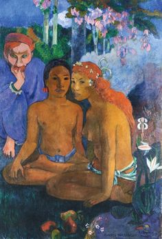 Paul Gauguin, 'Contes Barbares', 1902, Huile sur toile, 131,5 x 90,5 cm Museum Folkwang, Essen Photo: © Museum Folkwang, Essen  Format imprimable: 31 x 21 cm