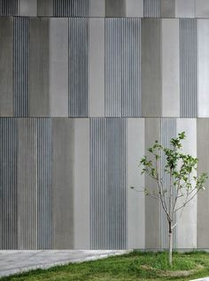 Gallery of Aimer Fashion Factory / Crossboundaries - 12 Aimer Fashion Factory / Crossboundaries Architects Precast Concrete Panels, Concrete Facade, Concrete Texture, Concrete Wall, Wood Texture, Factory Architecture, Facade Architecture, Metal Cladding, Wall Cladding