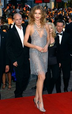 50 Shades of Grey (dresses) Natalia Vodianova in a grey dress