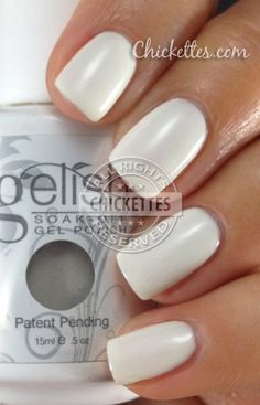 Sleek White - Gelish