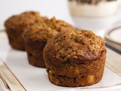 Seriously, these banana muffins are soft and moist and delicious and just as good on day two and they freeze beautifully. Old bananas can have a new life!