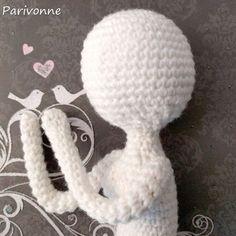 Kostenlose Anleitung Puppe häkeln von Parivonne