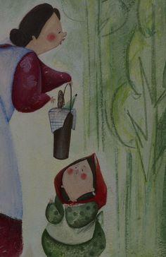 Lucia Rafanelli - Children's book illustrator, paintings & interior decorations -