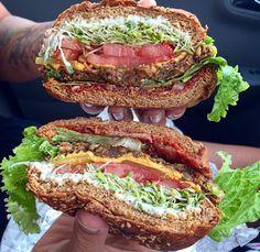 vegan burgers in hawaii.