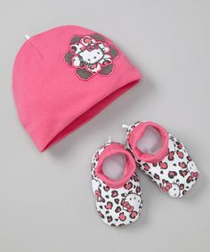 Take a look at this Hello Kitty Dark Pink Cap & Booties on zulily today! Hello Kitty Nursery, Hello Kitty Baby, Hello Kitty Items, Sanrio Hello Kitty, Disney Baby Clothes, Babies Clothes, Children Clothes, Kids Clothing, Kids Clothesline