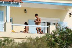 David & Stephanie on holiday in Greece...
