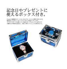 Disney/ディズニー ミッキー マウス オールステンレス 自動巻式 腕時計 全3色 隠れミッキー スワロフスキー ステンレス使用 ジャパンムーブメント シリアルナンバー入 5気圧防水