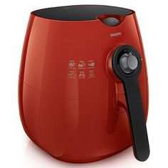 Philips AirFryer with Rapid Air Technology, Recipe Booklet and MealEasy Online - 7285694 Low Fat Cooking, Cooking Time, Small Appliances, Kitchen Appliances, Philips Viva Collection, Fryer Machine, Air Fryer Review, Cooking Temperatures, Metal Mesh