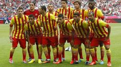 The team with the new jersey Fc Barcelona, Best Football Team, Win Or Lose, Sports Photos, Best Player, Lionel Messi, Neymar, Champion, Soccer