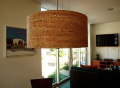 cork lamp from apartment therapy