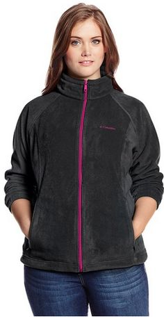 Great deal on an awesome jacket! Columbia Women's Plus-Size Full-Zip Fleece Jacket