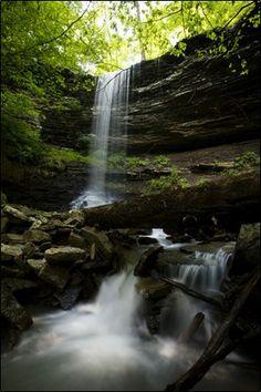 Murray Falls near Cass, Arkansas.