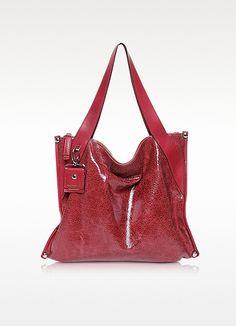 Lovers Leather Shopping Bag - Francesco Biasia