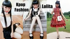Kpop Fashion VS Lolita Inspired Outfit Ideas + More Cute Outfits