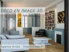 Pour la décoration, peinture ou papier peint ? Terminer des diktats ! Aujourd'hui tout est permis  #décoration #Bordeaux #Artao...