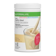 Independent Herbalife Distributor | Formula 1 Healthy Meal Nutritional Shake Mix, Alternative Proteins Vanilla non-GM Ingredients 810 g