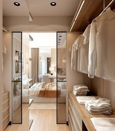 Best Walk in Closet Design Ideas to Inspire You - bedroom inspirations Walk In Closet Design, Bedroom Closet Design, Closet Designs, Home Bedroom, Master Bedroom Plans, Master Bedroom Addition, Master Room, Master Closet, Closet Walk-in