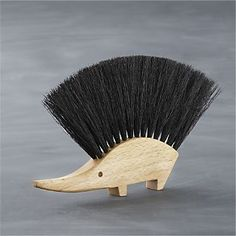 Definitely need this....Redecker® Hedgehog Crumb Brush I Crate and Barrel