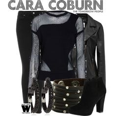 Inspired by Peyton List as Cara Coburn on The Tomorrow People.