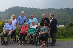 """Bridge on Lodgeville Road Renamed in Honor of Louis J. """"Zeke"""" Trupo  By Julie Perine on September 12, 2013 Under a cloudburst, 94-year-old Zeke Trupo and his family stood under umbrellas along Lodgeville Road – at the site now officially known as the Louis J. """"Zeke"""" Trupo Bridge.  The name may sound familiar. Bridgeport's own Trupo has been recognized in """"Ripley's Believe it or Not!"""" – and for a noble reason. In the Battle of Tinian during World War II, Trupo was hit by a sniper bullet…"""