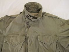 Vintage-WWII-Era-US-Army-M-1943-Field-Jacket-in-Good-Condition-Sz-34R