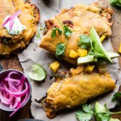 Cheesy Chipotle Adobo Chicken Quesadillas.