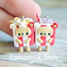Popcorn and soda bff bears Trying out some ideas that I have. :P #polymerclay #polymerclaycharms #claycharms #clay #charms #jewelry #food #foodjewelry #foodie #miniaturefood #handmade #diy #etsy #crafts #new #popcorn #soda #coke #movies #bff #bae #love #bears #animals #kawaiifood #kawaiicharms #kawaii #cute