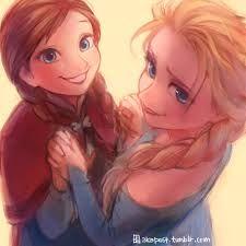Frozen - Queen Elsa x Princess Anna - Elsanna Anna Frozen, Frozen Fan Art, Disney Frozen, Frozen Queen, Queen Elsa, Disney Cartoon Characters, Disney Films, Disney And Dreamworks, Disney And More