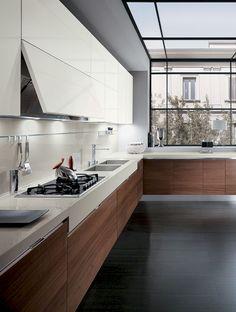 Adorable 50 Inspiring White Kitchen Design Ideas https://homeylife.com/50-inspiring-white-kitchen-design-ideas/