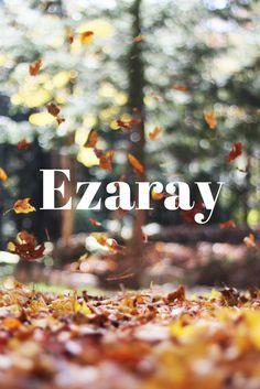 Baby name Ezaray