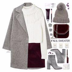 Оттенки красного в зимнем гардеробе: 6 ярких образов на каждый день