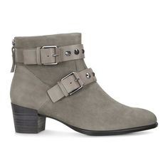 ECCO Shape 35 Buckle Boot $159.99  * Step into the new season with a fashion-forward twist to the classic women's ankle boot * Buckle and hardware detailing add a contemporary edge * Premium nubuck leather gives a soft finish * 35mm (1.4 in) leather-wrapped heel and direct-injected PU sole are flexible and comfortable * Built-in anatomical shank gives a lighter-than-air feeling
