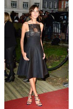 Alexa Chung's Red Carpet Style - Alexa Chung Outfits