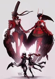 Persona 5 Anime, Persona 5 Joker, Persona Crossover, Shin Megami Tensei Persona, Joker Pics, Dark Drawings, Akira Kurusu, Anime Art Fantasy, Otaku