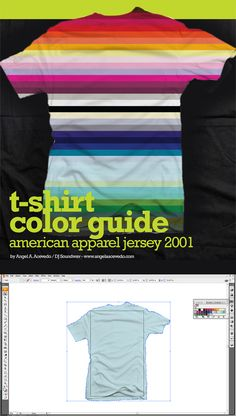 100 T-shirt Templates! Downloadable t-shirt mockups, t-shirt template vector files and PSD files! Enjoy! #tshirt #template #mockup