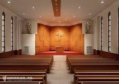 modern church interior google search