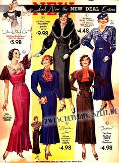 dreißiger jahre kleider silhouette - Google-Suche